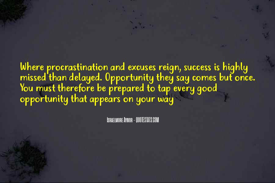 Quotes About Excuses And Success #877999