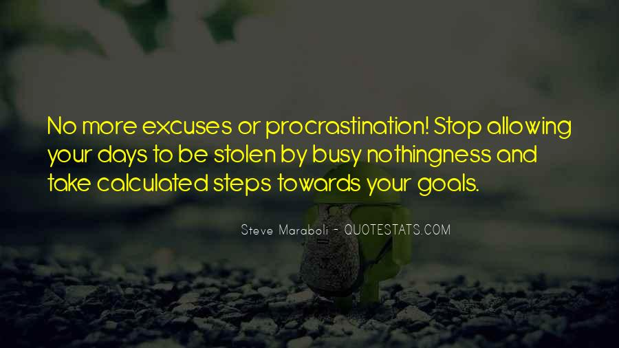 Quotes About Excuses And Success #946639