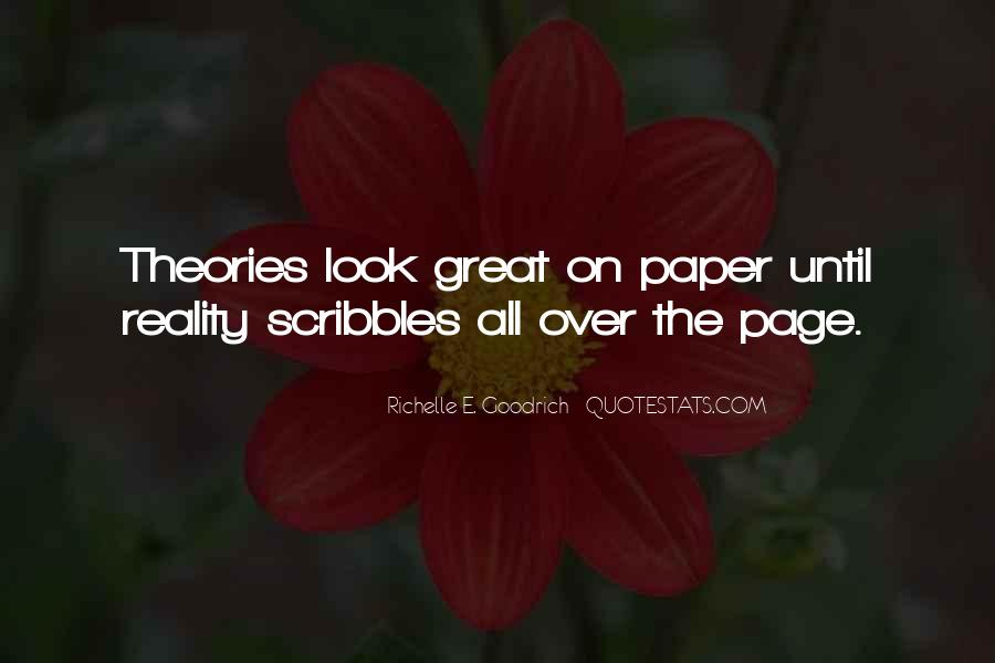 Quotes About Scribbles #1551470