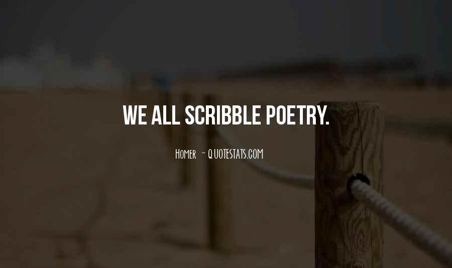 Quotes About Scribbles #198050