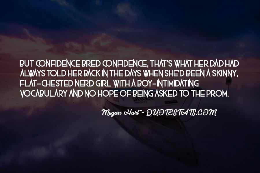 Quotes About Nerd Girl #432506
