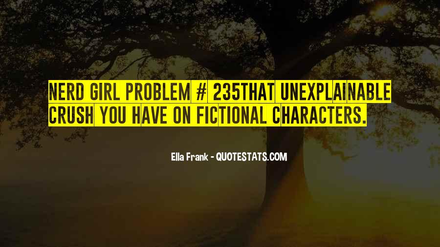 Quotes About Nerd Girl #457433