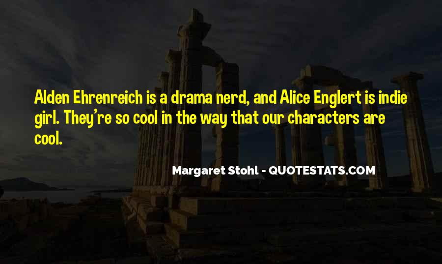 Quotes About Nerd Girl #756083