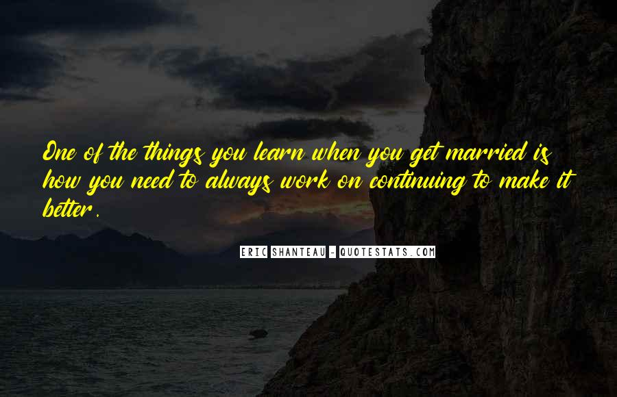 Quotes About When You Get Married #989998