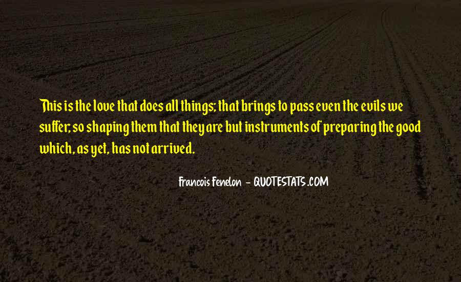Quotes About The Evils Of Love #220312