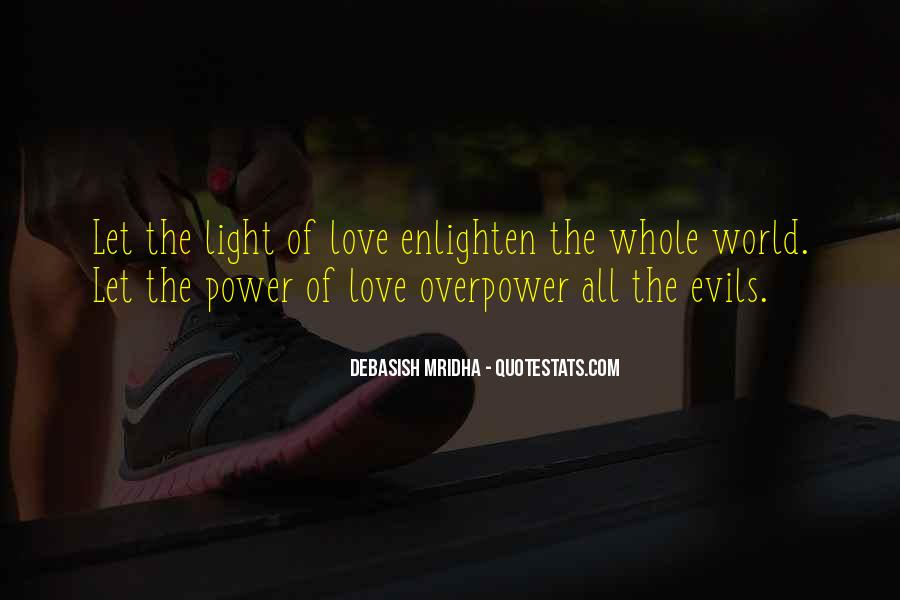 Quotes About The Evils Of Love #929118