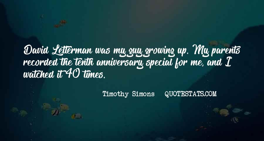 Quotes About My Parents Anniversary #1248391
