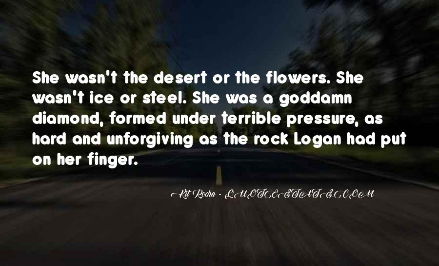 Quotes About Desert Flowers #1148120