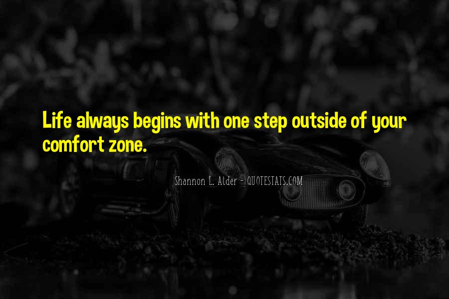 Quotes About Outside Your Comfort Zone #1221130