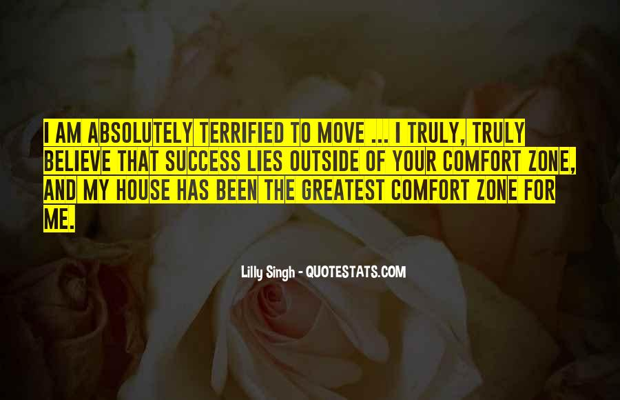 Quotes About Outside Your Comfort Zone #388024