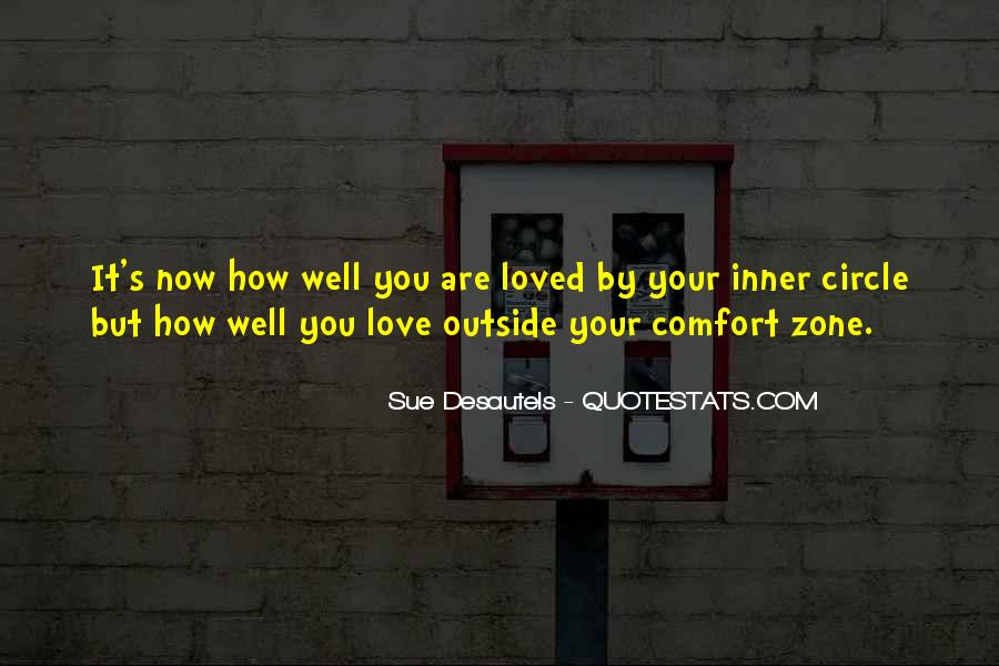 Quotes About Outside Your Comfort Zone #640208