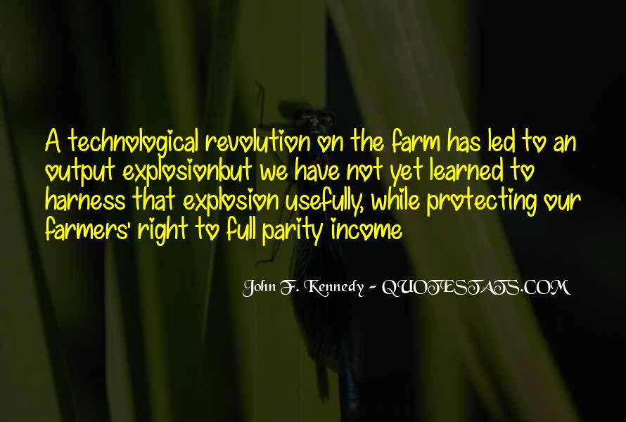 Quotes About Farmers And Farming #1434932