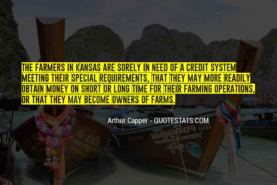 Quotes About Farmers And Farming #396162