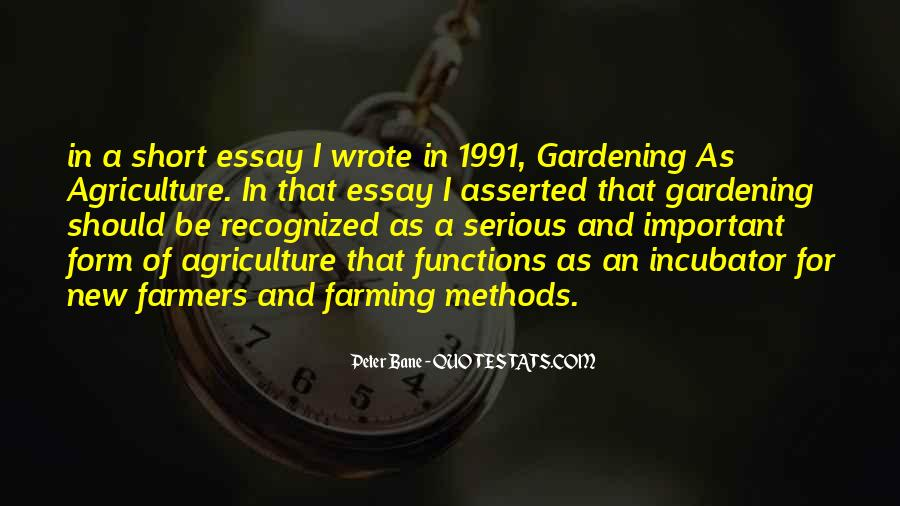 Quotes About Farmers And Farming #893820