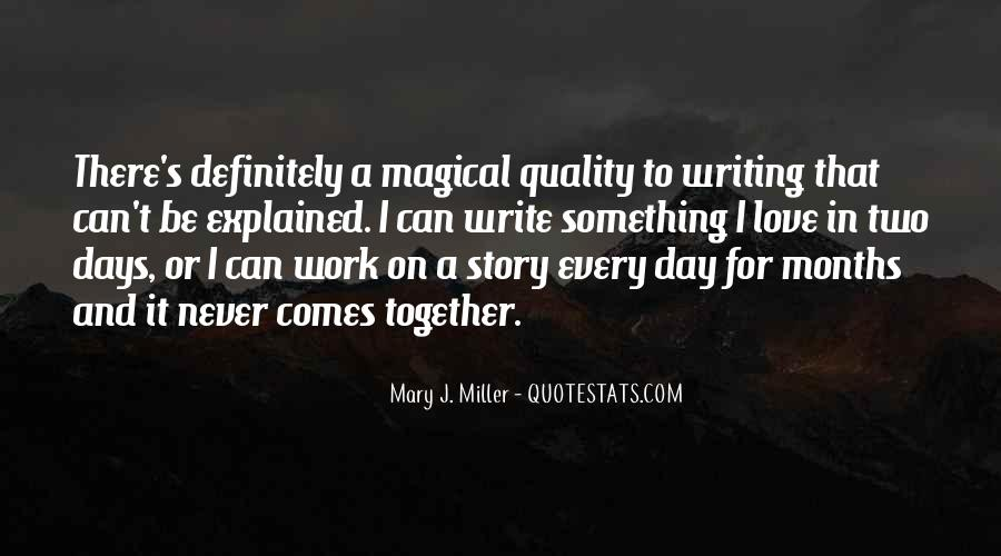Quotes About Magical Days #1076263