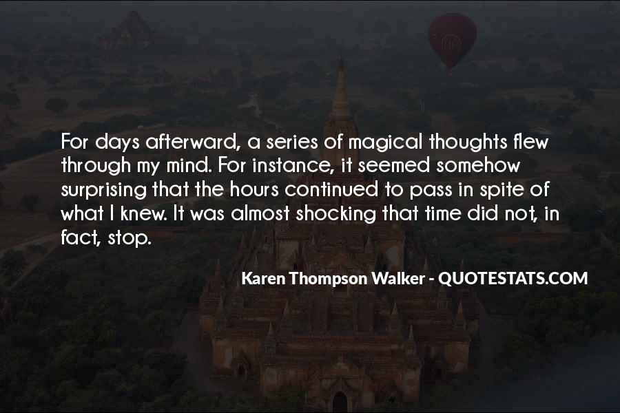 Quotes About Magical Days #340977