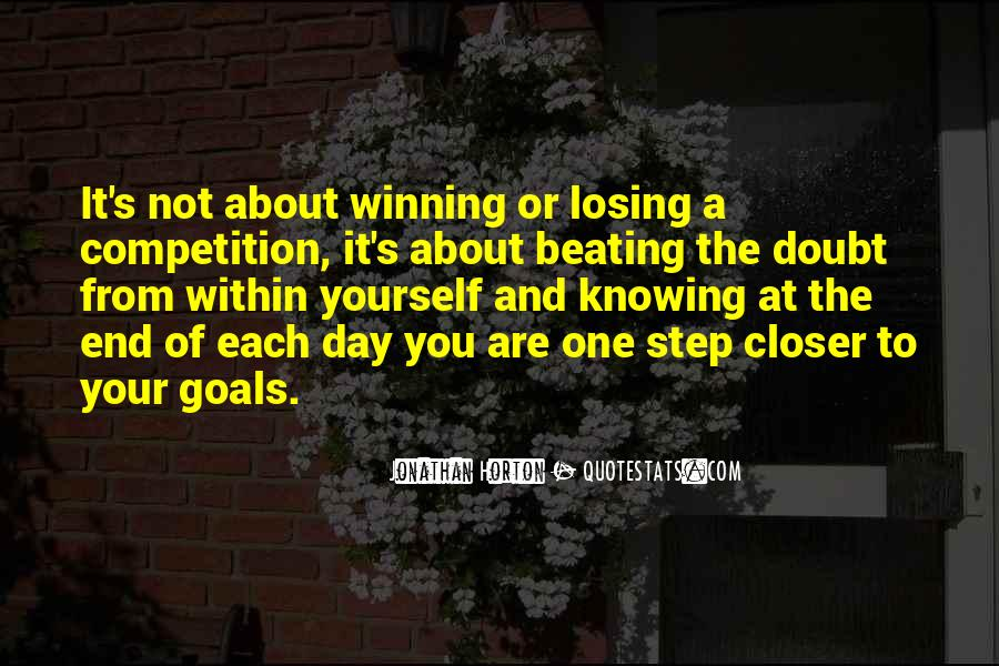 Quotes About Beating Your Competition #19870