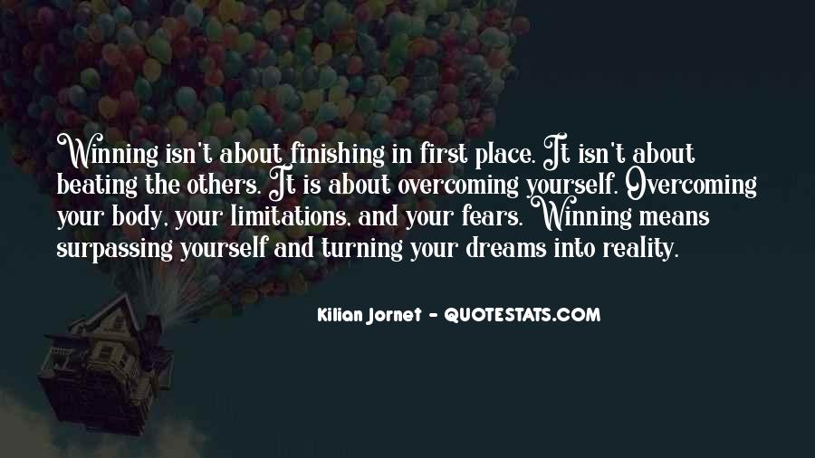 Quotes About Beating Your Competition #724645