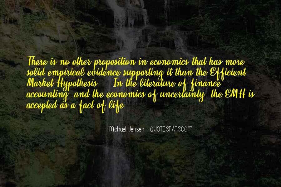 Quotes About Uncertainty #153556