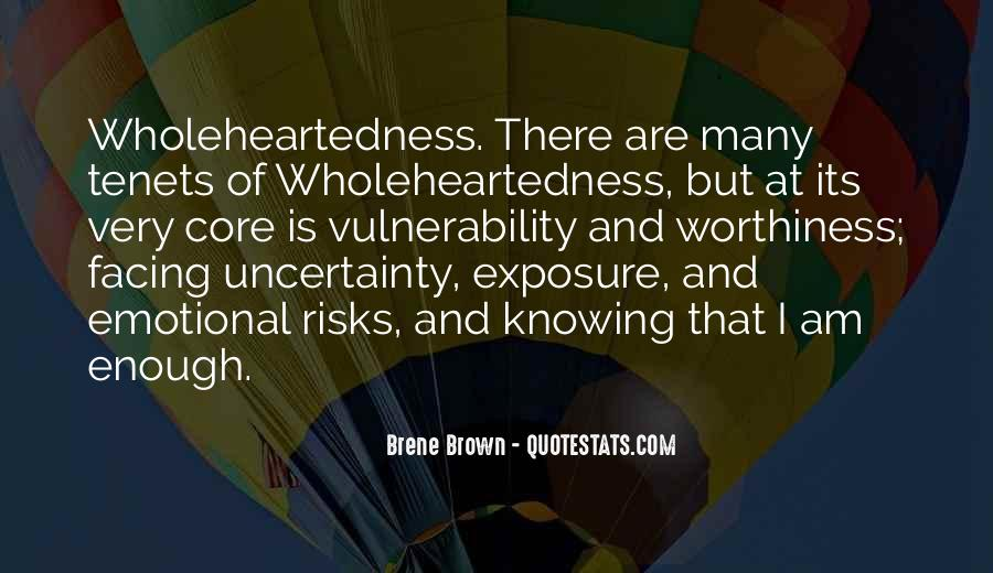 Quotes About Uncertainty #95241