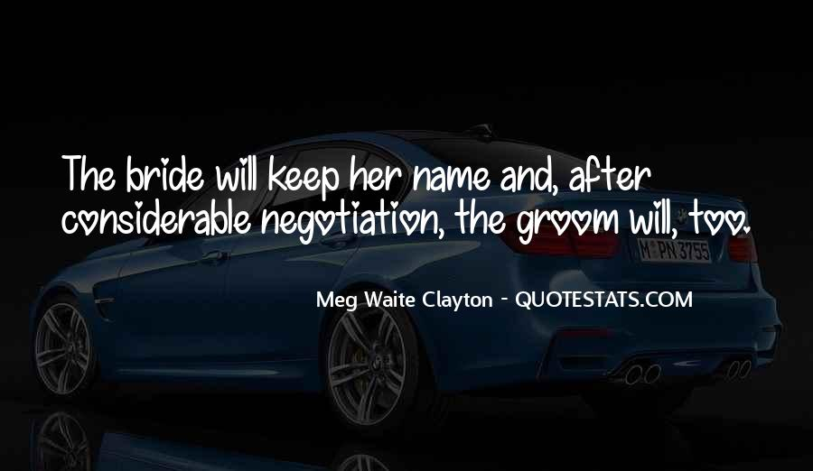 Quotes About Soon To Be Bride #97873