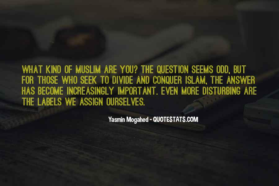 Quotes About Muslim #101216