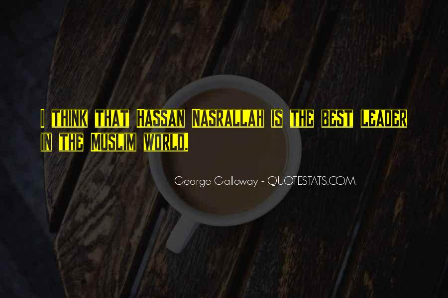 Quotes About Muslim #136988