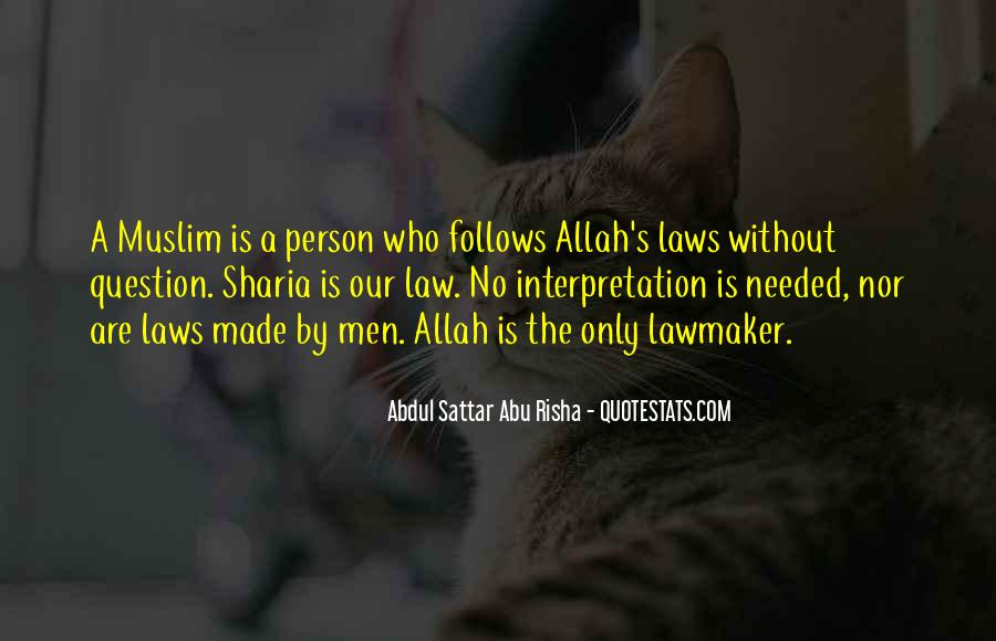 Quotes About Muslim #203568