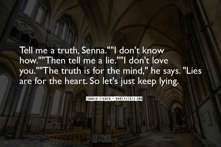 Quotes About Know The Truth #111516
