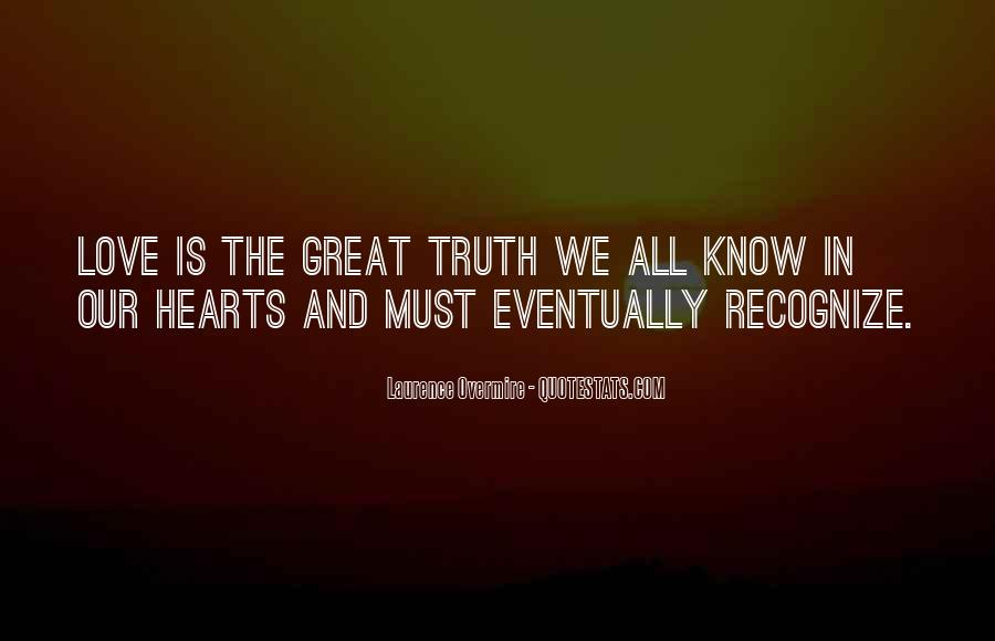 Quotes About Know The Truth #111716