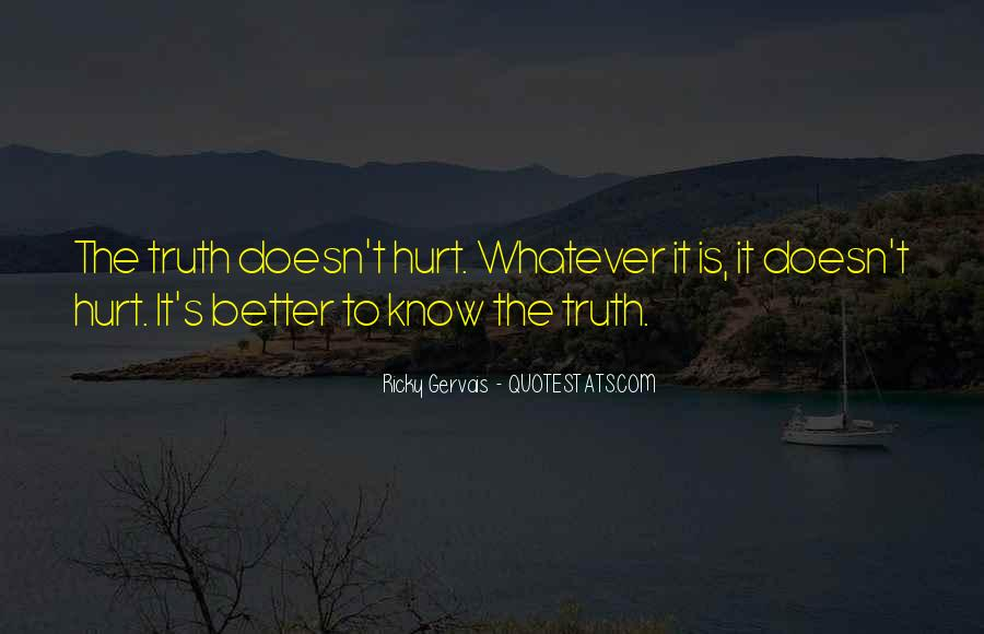 Quotes About Know The Truth #11409