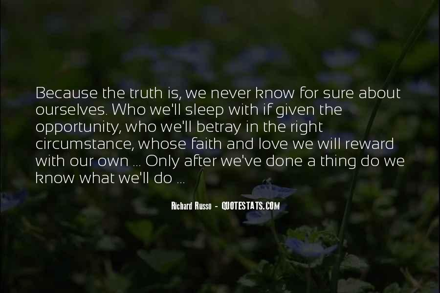 Quotes About Know The Truth #118002