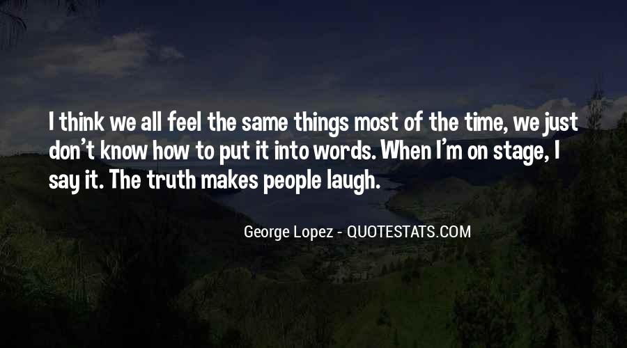 Quotes About Know The Truth #122988