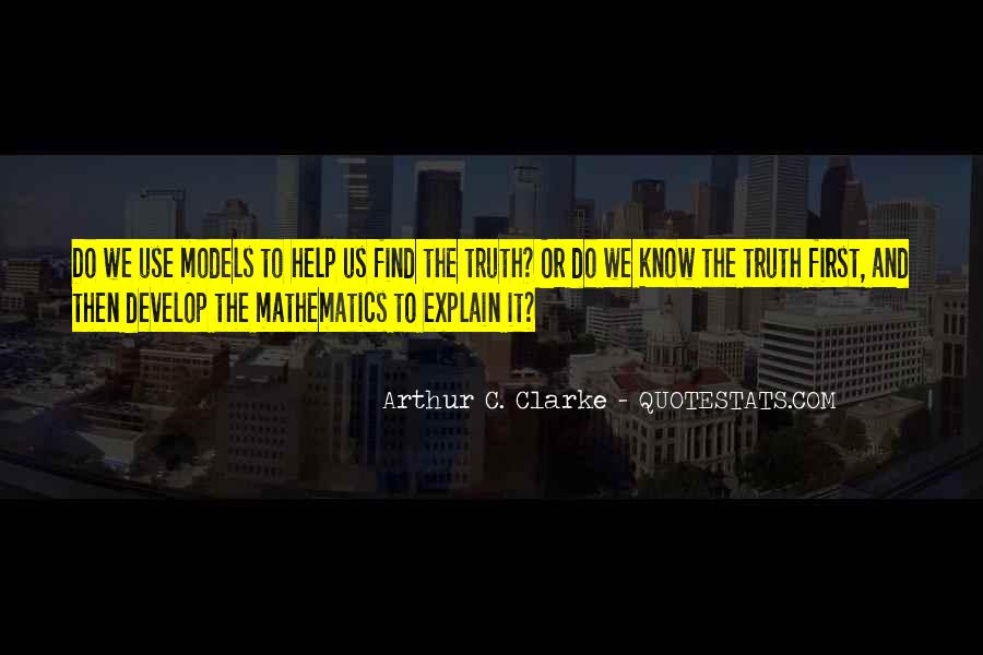 Quotes About Know The Truth #30189