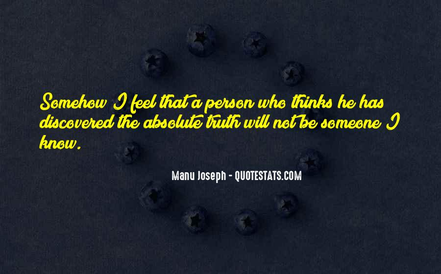 Quotes About Know The Truth #38103