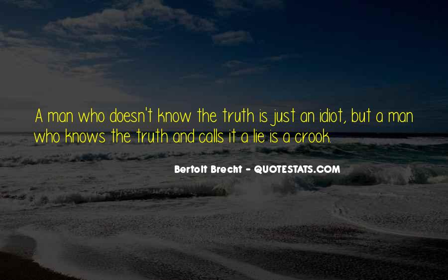 Quotes About Know The Truth #41149