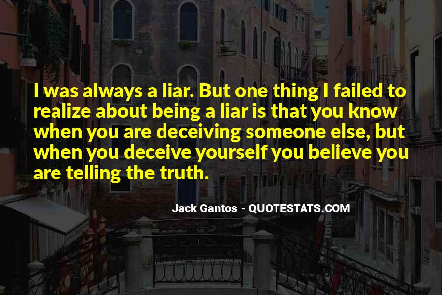 Quotes About Know The Truth #66297