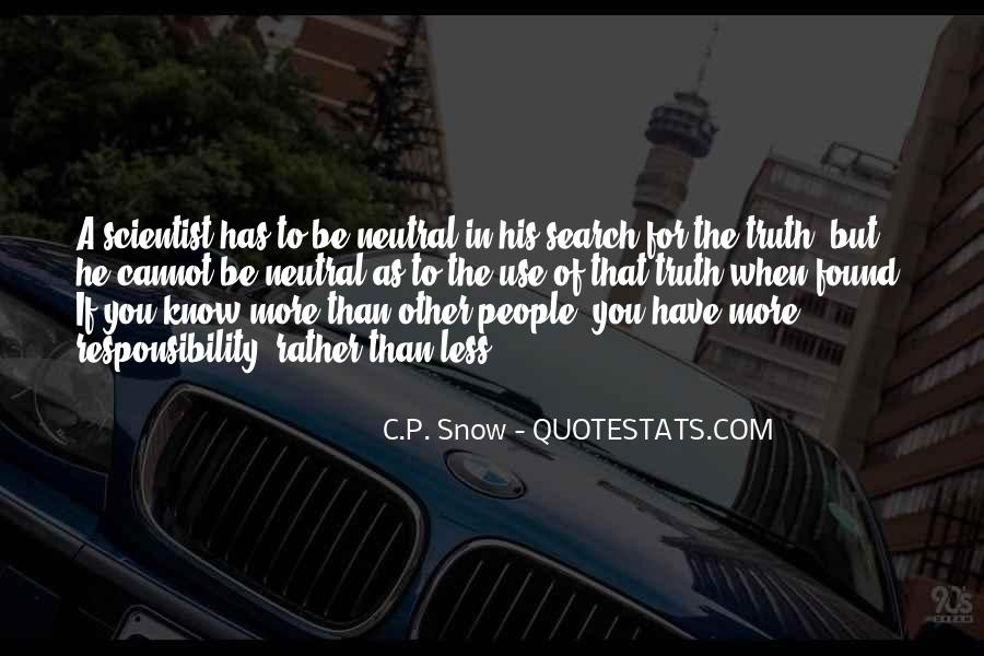 Quotes About Know The Truth #92720