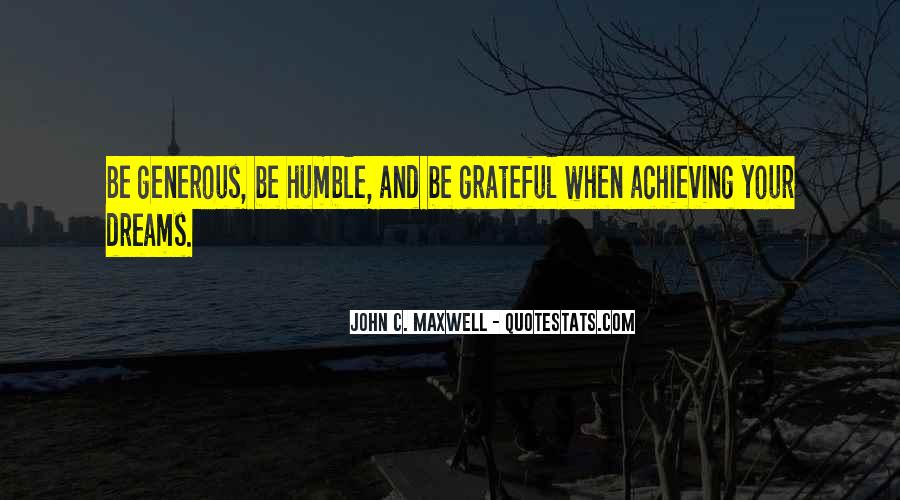 Quotes About Humble Leadership #1429325