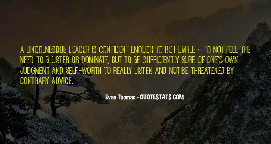 Quotes About Humble Leadership #511245