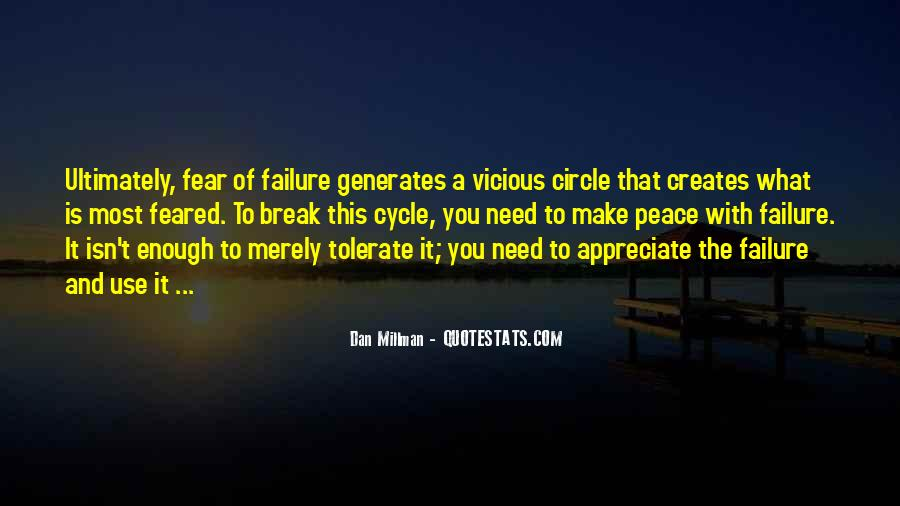 Quotes About Vicious Circles #1376300
