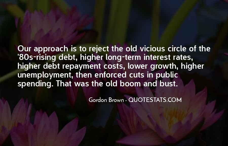 Quotes About Vicious Circles #42077