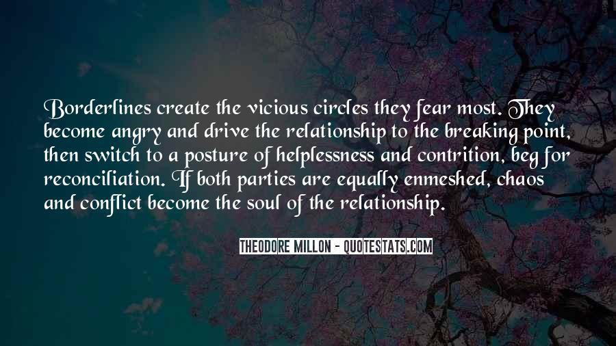 Quotes About Vicious Circles #51197