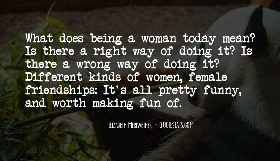 Quotes About Female Self Worth #1541144
