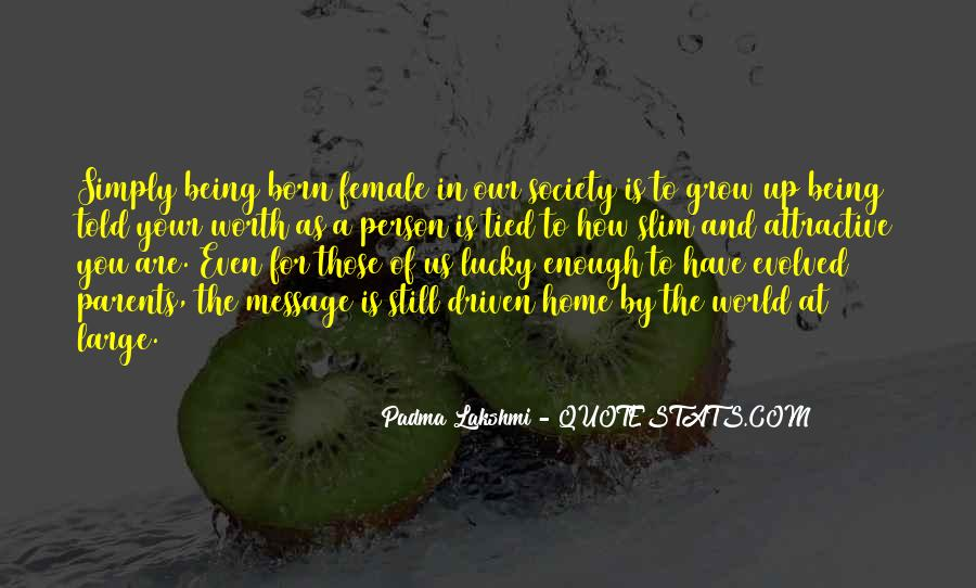 Quotes About Female Self Worth #515089