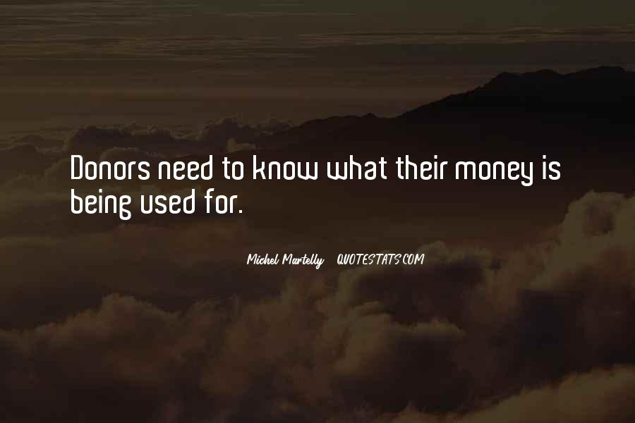 Quotes About Being Used #159181