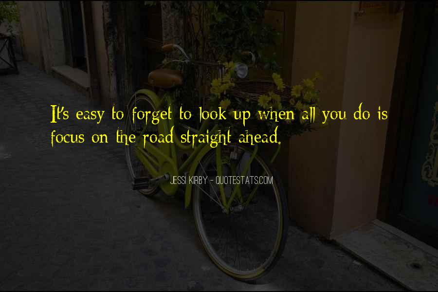 Quotes About Road Ahead #1183776