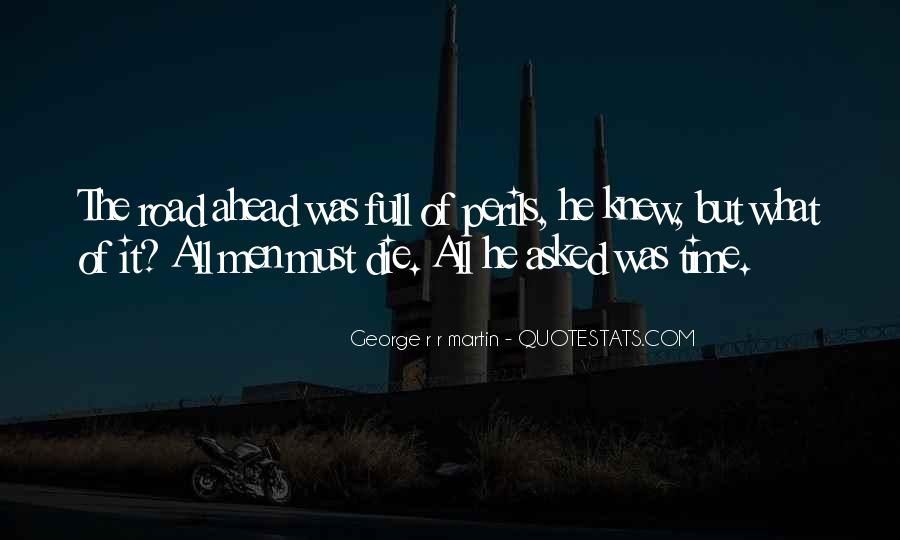Quotes About Road Ahead #1369159