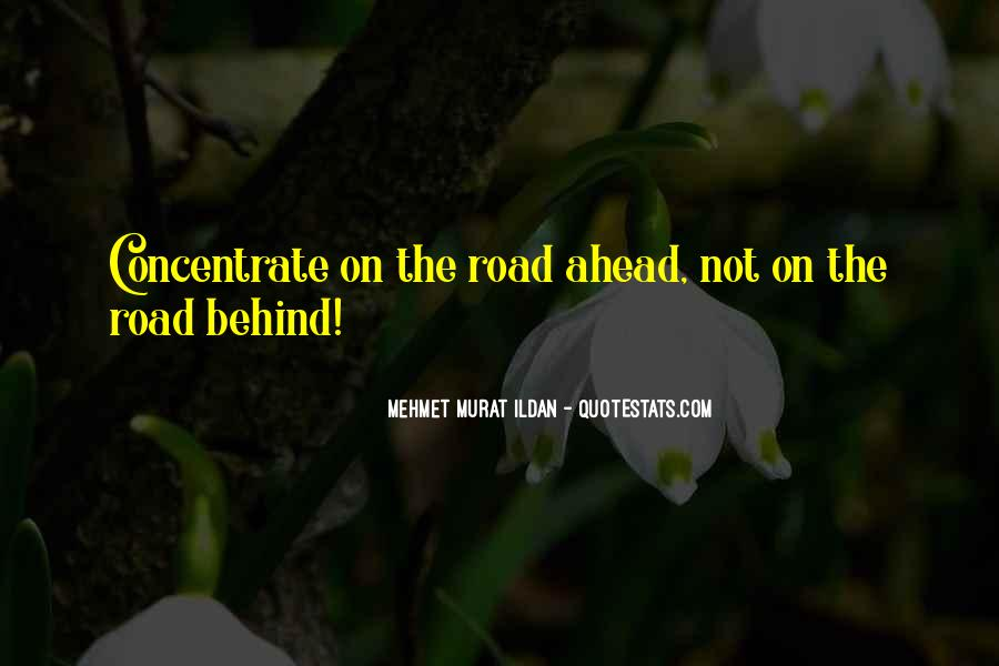 Quotes About Road Ahead #223794