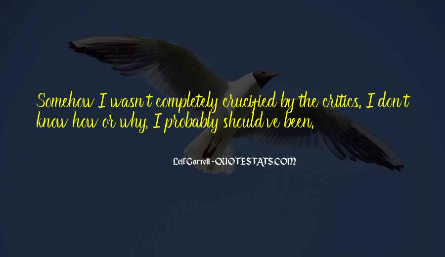 Quotes About Crucified #346427